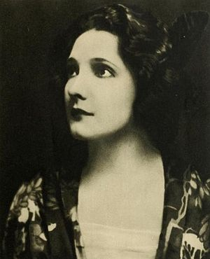 Mabel Ballin - 1924 photo from Stars of the Photoplay
