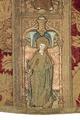 MCC-21689 Rode dalmatiek met annunciatie, visitatie en aanbidding der herders, Cyriacus, Petrus e.a. (9).tif