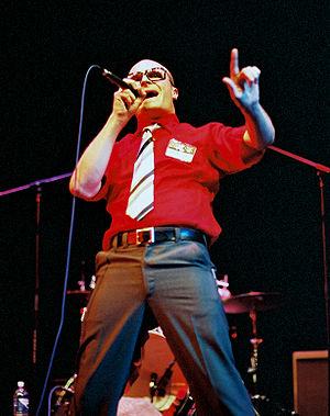 MC Frontalot - Performing live at PAX, 2004.