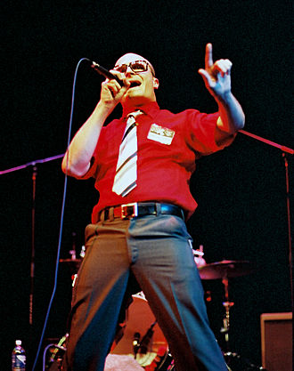 MC Frontalot - Performing live at PAX, 2004.