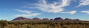 Kata Tjuta or the Olgas is a rock formation ne...