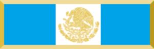 Distinguished Service Medal - Image: MEX Gafete de Condecoración a Servicios Distinguidos
