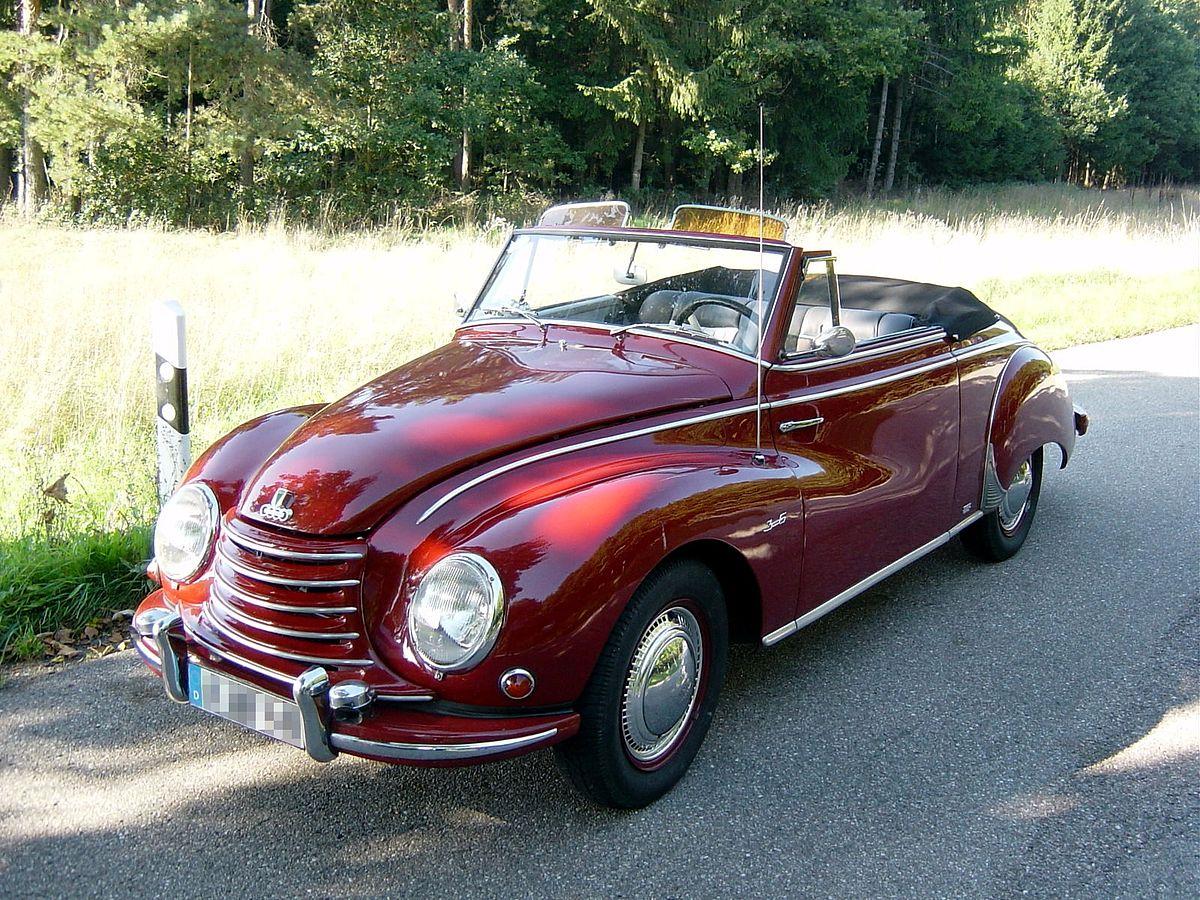 DKW 3 = 6 Coupe 1958 1:43 norev nuevo /& OVP 820313