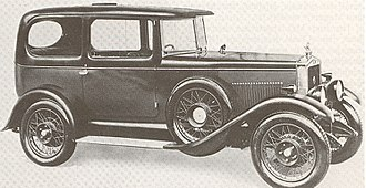 Carbodies - Image: MHV MG 14 40 saloon 1927