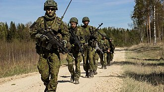 Lithuanian Land Force - Lithuanian soldiers