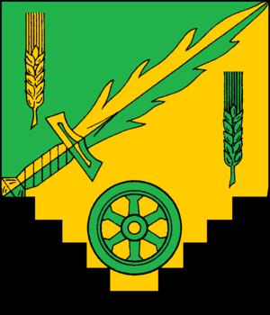 Maasbüll - Image: Maasbuell Wappen