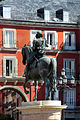 Madrid. Mayor square. Equestrian statue of Felipe III. Spain (2853803572).jpg