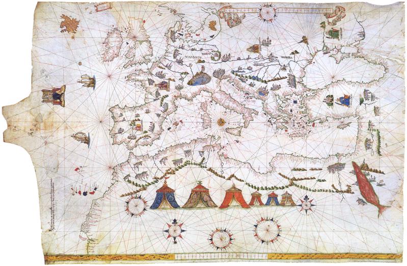 Fichier:Maggiolo - Portolankarte - 1541.png