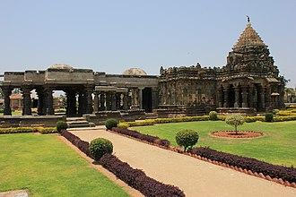 Mahadeva Temple, Itagi - Mahadeva Temple at Itagi (or Ittagi) in the Koppal district, 1112 CE, an example of dravida articulation with a nagara superstructure