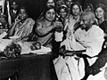 Mahatma Gandhi with women.jpg