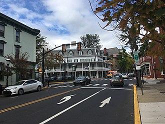 Doylestown, Pennsylvania - Main Street in Doylestown