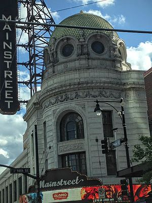 Downtown Kansas City - The redeveloped Mainstreet Theater, which is the Alamo Drafthouse.