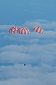 Main parachutes fully deployed on Orion EFT-1.jpg