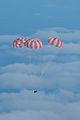 Main parachutes fully deployed on Orion EFT-1.jpg