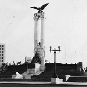 Monument to the Victims of the USS Maine (Havana) - The monument around 1930.
