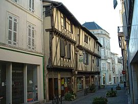 Historic centre of Saint-Jean-d'Angély