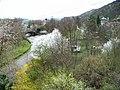 Malá Chuchle, ulice Podjezd a Zbraslavská, z Branického mostu.jpg
