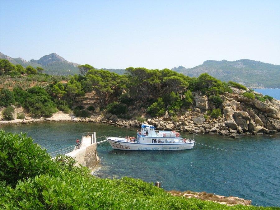 Mallorca Sa Dragonera island nature harbour 2007-08-14