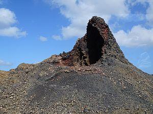 Timanfaya National Park - Manto de la Virgen