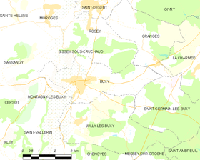 Map commune FR insee code 71070.png