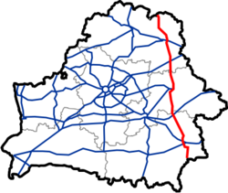 Map of Automobile Roads in Belarus M8.png