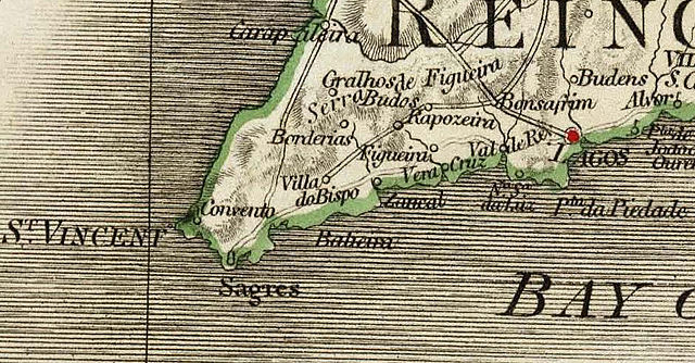 File:Map of Cape St. Vincent (1797).jpg - Wikimedia Commons