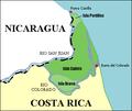 Mapa de Islas Calero, Brava y Portillos, Costa Rica.png