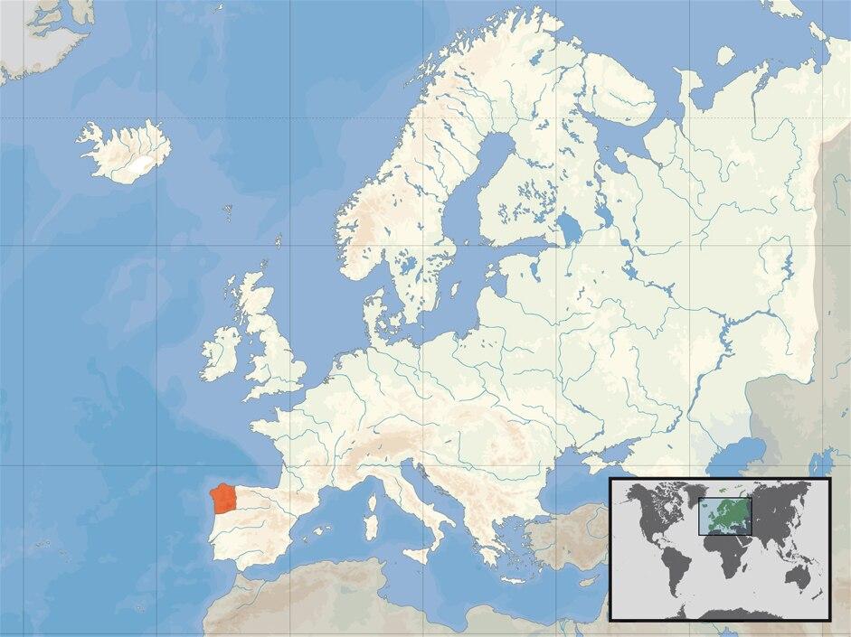 Localización de Reino de Galiza