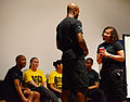 Marauders learn to act in SAPR skits 141209-F-NJ768-002.jpg