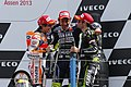 Marc Márquez, Valentino Rossi and Cal Crutchlow 2013 Assen 2.jpg