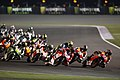Marc Márquez leads the pack 2014 Losail.jpeg