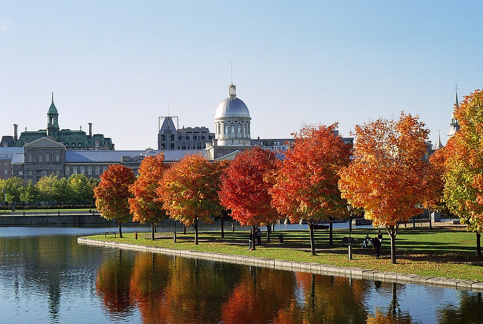 March%C3%A9 Bonsecours and Foliage