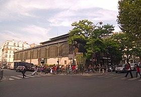 Halle secr tan wikip dia for Garage rue de meaux vaujours