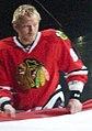 Marián Hossa Chicago Blackhawks Stanley Cup Banner Ceremony (5103677205).jpg
