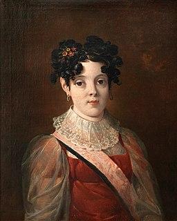 Infanta Maria da Assunção of Braganza Portuguese Infanta