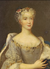 Marie Leczinska as Queen of France and of Navarre by an unknown artist.png