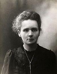Maria Skłodowska-Curie.