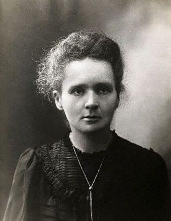 Marie Curie, discoverer of radioactive elements Mariecurie.jpg