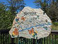 Mariposa Creek Parkway, combined stone art and map.jpg