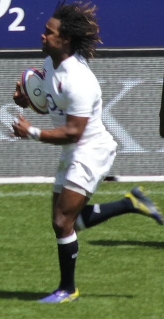 Marland Yarde - Yarde playing for England against the Barbarians in 2013.