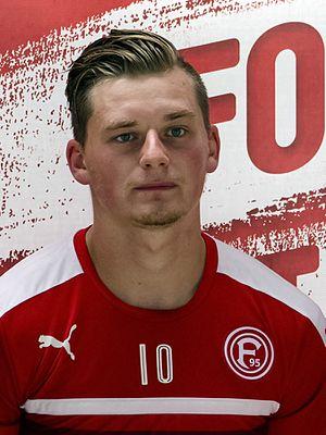 Marlon Ritter - Ritter with Fortuna Düsseldorf in 2016