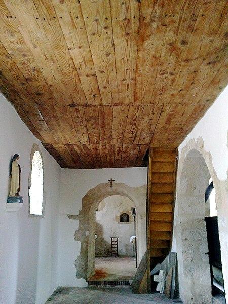 Marne Cormoyeux Eglise Saint-Clement Bas Cote Gauche Vue De L'Absidiole 22062016