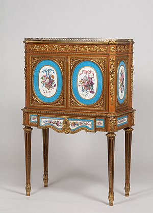 Martin Carlin - Martin Carlin, Fall-front desk, c. 1775 at Waddesdon Manor