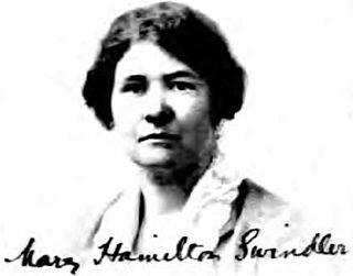 Mary Hamilton Swindler archaeologist
