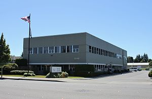Marysville, Washington - Marysville's city hall, located on State Avenue