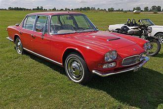 Giulio Alfieri - Image: Maserati 4000 Quattro porte Flickr mick Lumix