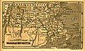 Massachusetts map, 1855, taken from an unknown geography book.jpg