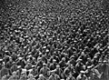 Massed German prisoners, France, during World War I (3017147916).jpg