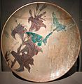 Massier - Plate decorated with lilies and butterflies.jpg