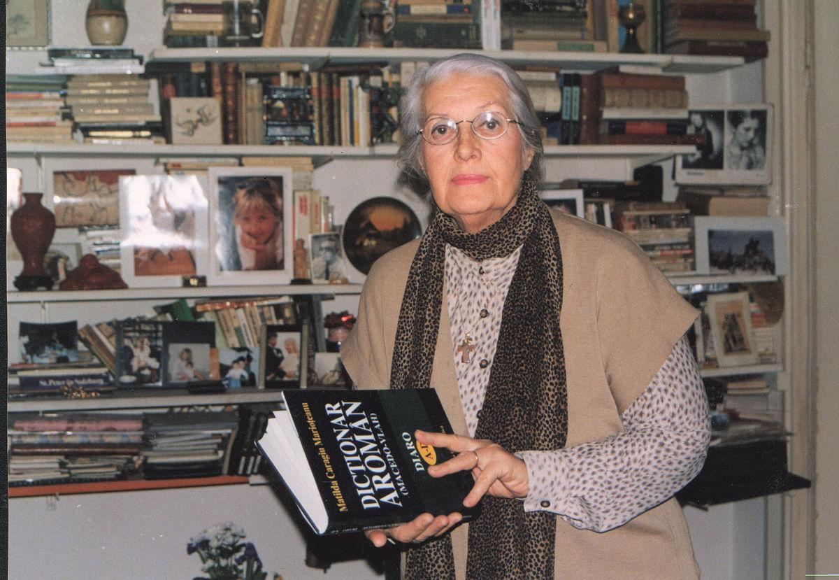 11 Martie Wikipedia: Matilda Caragiu Marioțeanu
